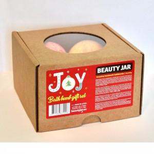 """JOY"" Bath Bomb Gift Set - Limited Edition"
