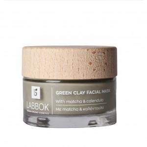 Πράσινη Μάσκα Αργίλου