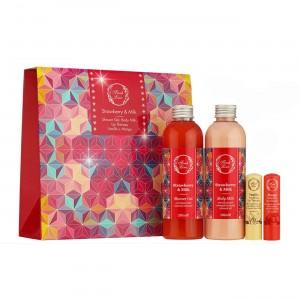 Gift Set - Φράουλα & Γάλα