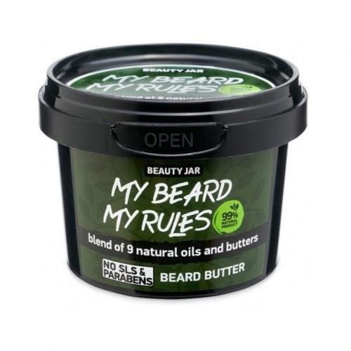 MY BEARD MY RULES Ενυδατικό Βούτυρο Γενειάδας