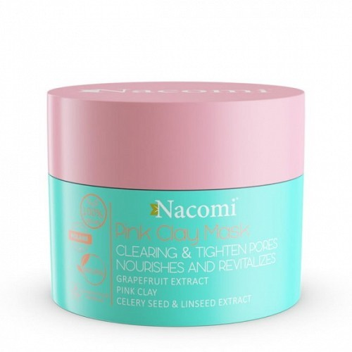 Pink Clay Mask - Cleansing, Tightening Pores, Skin Perfecting
