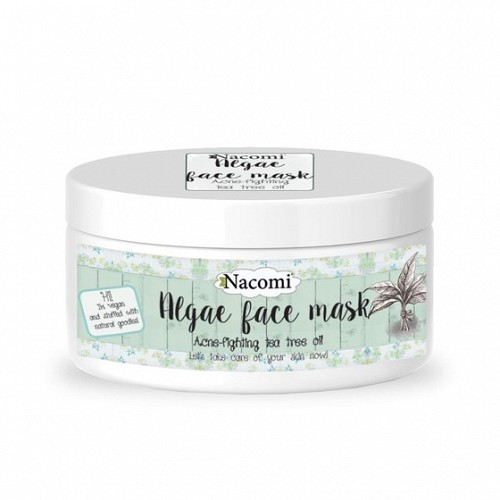 Algae Face Mask - Acne Fighting Tea Tree Oil