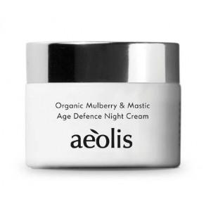 Age Defence Night Cream - Organic Mulberry & Mastic