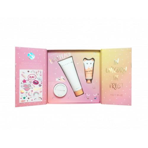 Box Magic Sticker Body Milk - Shower - Hand Cream Peach