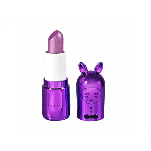 Vegan Lip Balm Metal Purple