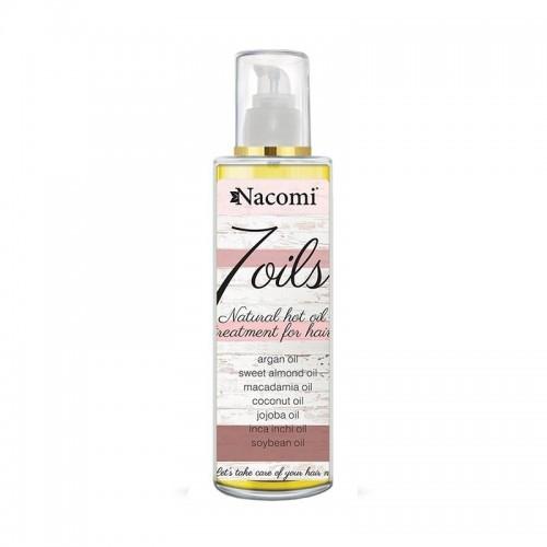 7 Oils Hair Treatment - Natural Hot Oil Treatment for Hair