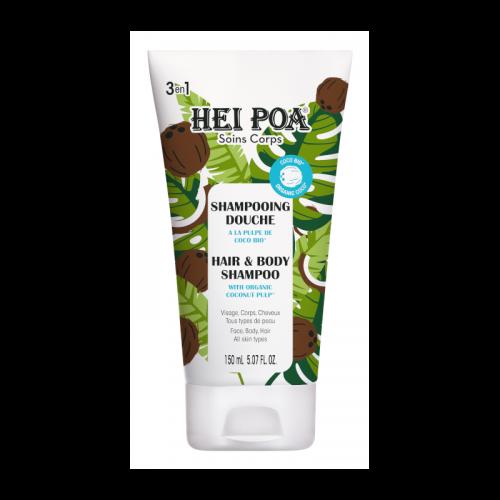 Coconut Hair & Body Shampoo with Organic Coco Pulp