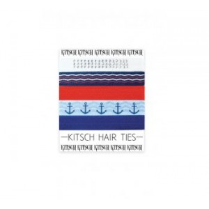 Anchors Away Hair Ties