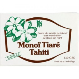 Tiki Monoi Vanilla Soap