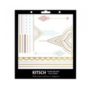 Henna Metallic Tattoos Set 1