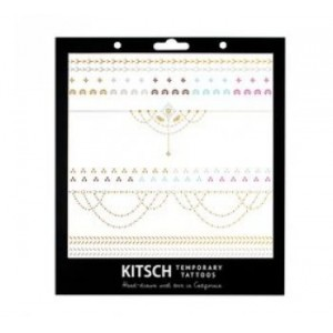 Henna Metallic Tattoos Set 2
