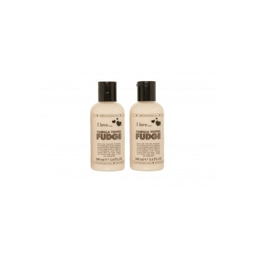 Vanilla Toffee Fudge Bubble Bath & Shower Cream
