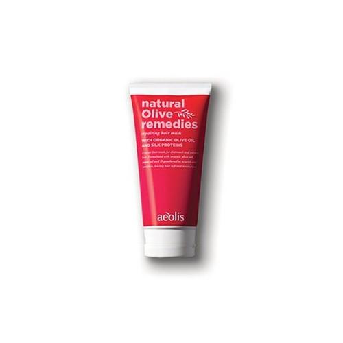 Μάσκα Επανόρθωσης Μαλλιών Με Βιολογικό Λάδι Ελιάς & Πρωτεΐνες Μεταξιού
