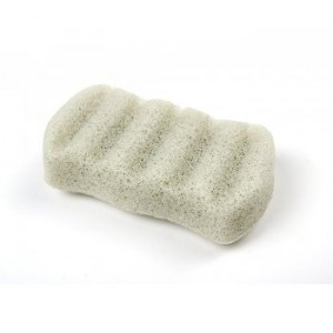 The Simply Konjac Sponge 6 Waves Green