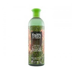 Shower Gel & Foam Bath - Aloe Vera & Ylang Ylang