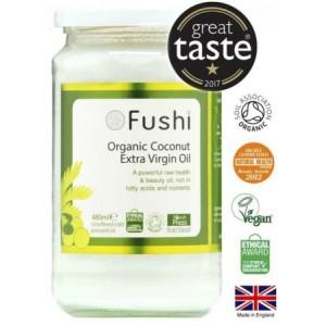 Fushi Organic - Έλαιο Καρύδας, Ψυχρής Έκθλιψης
