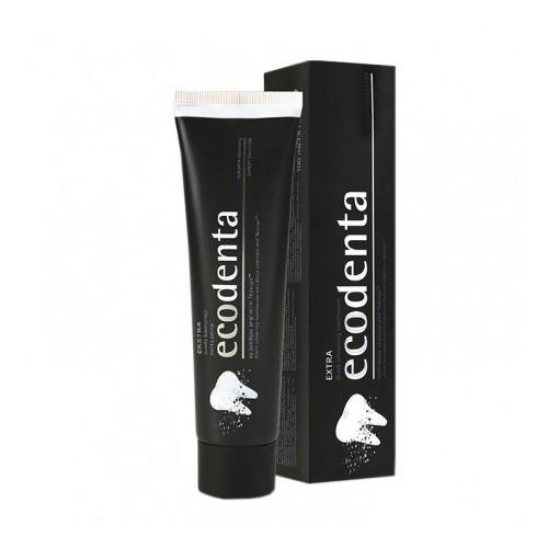 Μαύρη Οδοντόκρεμα Λεύκανσης με Άνθρακα & Teavigo