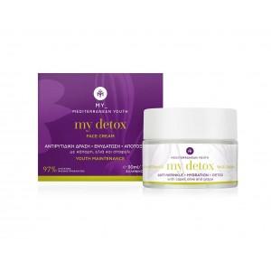 Detox Face Cream Aντιρυτιδική Δράση