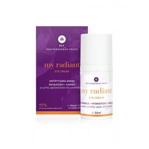 My Radiant Eye Cream Αντιρυτιδική Δράση, Ενυδάτωση, Λάμψη