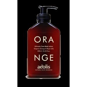 Γαλάκτωµα Σώµατος & Shower Gel µε Βιολογικό Πορτοκάλι & Βασιλικό Πολτό