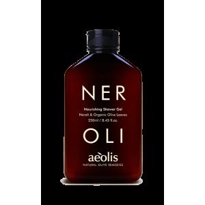 Shower Gel µε Νερόλι & Βιολογικά Φύλλα Ελιάς
