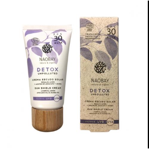 Detox - Αντηλιακή Κρέμα Ενυδάτωσης SPF30