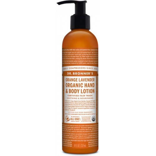 Hand and Body Lotion Orange Lavender