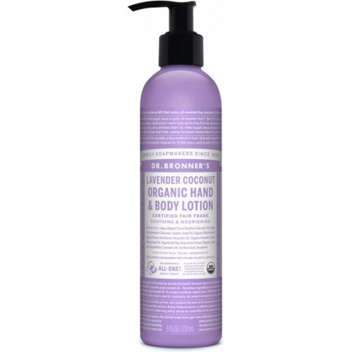 Hand and Body Lotion Coconut Lavender