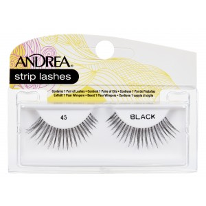 Strip Lashes Black 45
