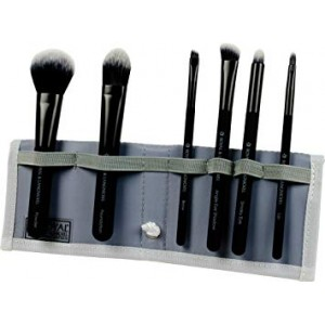 Moda Total Face Brush Set Black