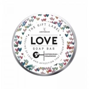 Σαπούνι με κόκκους καφέ, love