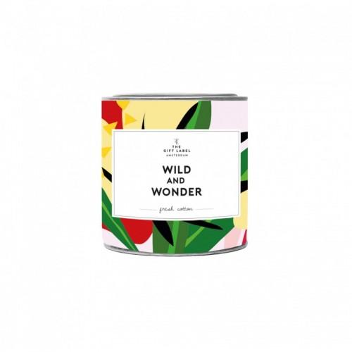 Μίνι κερί σόγιας Wild Wonder - Fresh cotton