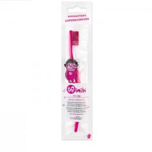 Παιδική Οδοντόβουρτσα Φούξια Απαλή (Fuchsia Soft)