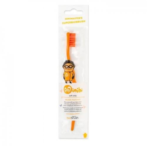 Παιδική Oδοντόβουρτσα Πορτοκαλί Απαλή (Orange Soft)