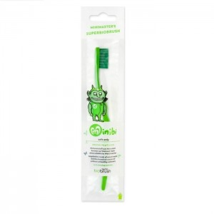 Παιδική Oδοντόβουρτσα Πράσινη Απαλή (Green Soft)