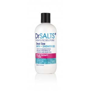 Dead Sea Bath & Shower Gel Relax Therapy with Rose