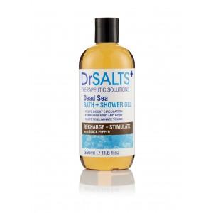 Dead Sea Bath & Shower Gel Recharge & Stimulate with Black Pepper
