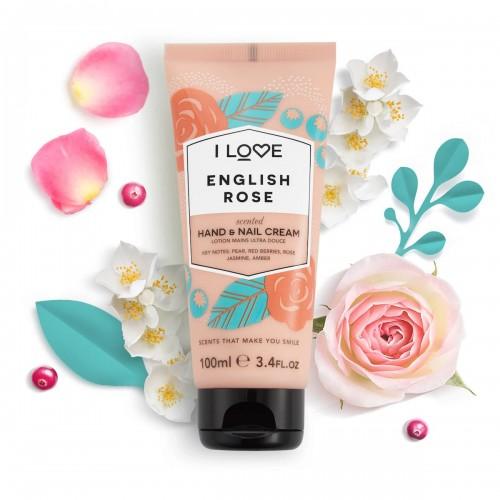 English Rose Hand and Nail Cream