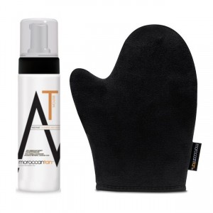 Instant Tanning Mousse + Application Mitt Combo