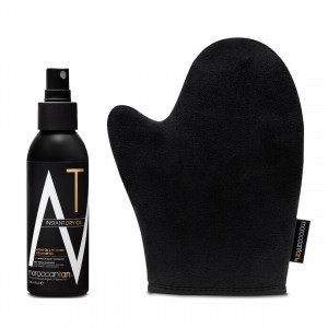 Instant Dry Oil + Application Mitt Combo