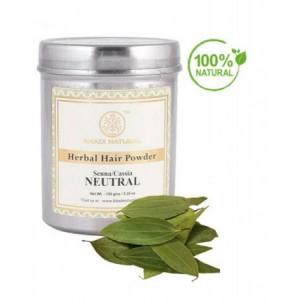 Άχρωμη Φυτική Χέννα Μαλλιών NEUTRAL / Herbal Natural Henna (SENNA/CASSIA)