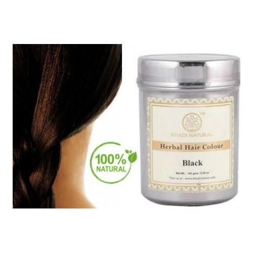 Φυτική Βαφή Μαλλιών ΜΑΥΡΟ / Herbal Hair Colour Black