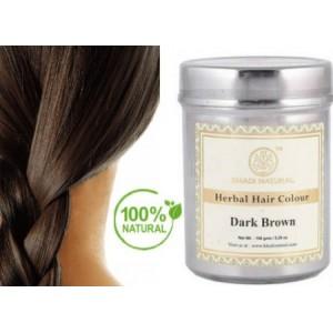 Φυτική Βαφή Μαλλιών ΣΚΟΥΡΟ ΚΑΣΤΑΝΟ / Herbal Hair Colour Dark Brown