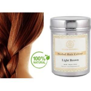 Φυτική Βαφή Μαλλιών ΑΝΟΙΧΤΟ ΚΑΣΤΑΝΟ / Herbal Hair Colour Light Brown