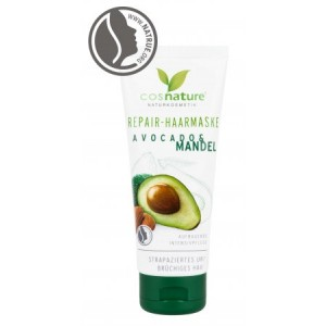 Μάσκα Μαλλιών Αναδόμησης & Εντατικής Θρέψης με Avocado & Αμύγδαλο / Repair Hair Mask Avocado & Almond