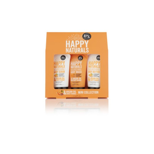 Argan Oil & Sweet Orange Mini Collection