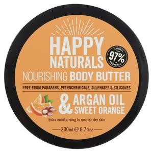 Argan Oil & Shea Nourishing Body Butter