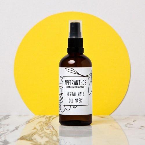 Herbal Hair Oil Mask