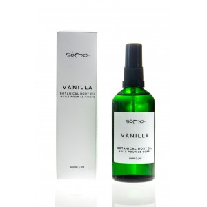 Vanilla Botanical Body Oil