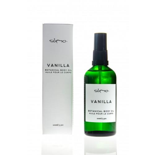 Vanilla Botanical Body Oil